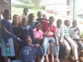 Jannah & Amy with 10 New Kids to School