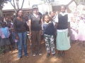 Jannah Dropping One of Her Sponsored Kids to School in Maua