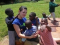 Megan at Nairobi Children's Home