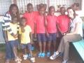 Peris & Jannah with 6 Sponsored Kids