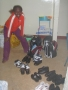 Peris Getting the Gear Ready to Go Back to School