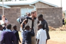 Volunteer Brian with the Boys at Thika