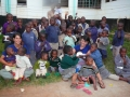 Meagan and Marika with Kids at Nairobi Children's Home